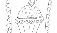 Disegno Cupcake