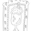 disegno-da-colorare-gelato-fragola