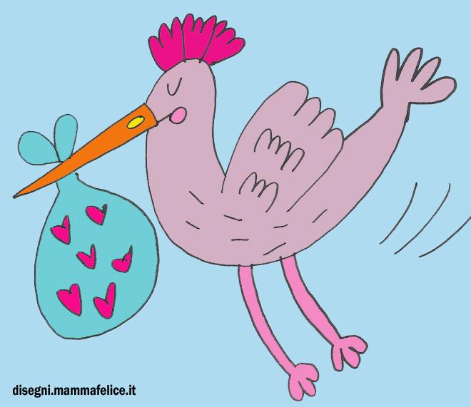 disegno-per-bambini-da-colorare-gratis-cicogna-cavolo-come-nascono-i-bambini