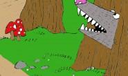 disegno-per-bambini-da-colorare-gratis-bosco-animali-bambini-anteprima
