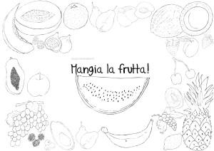 disegno-da-colorare-bambini-per-mangiare-la-frutta