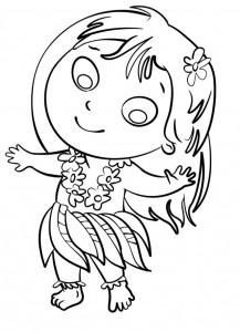 disegno-per-bambini-da-colorare-gratis-bambina-danza-havaiana-hawai