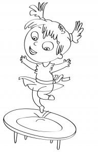 disegno-per-bambini-da-colorare-gratis-bambina-tappeto-elastico-giocare