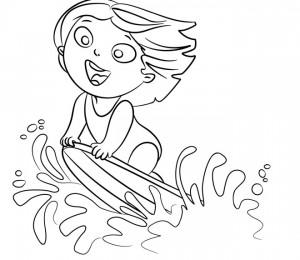 disegno-per-bambini-da-colorare-gratis-bambini-vacanza-mare-surf