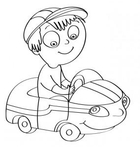 disegno-per-bambini-da-colorare-gratis-bambino-automobilina-giocare