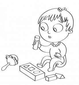 disegno-per-bambini-da-colorare-gratis-neonato-giochi-sonaglio-cubi