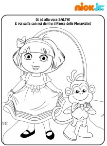 disegni-da-colorare-dora-esploratrice-nick-jr