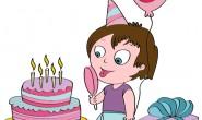 Disegno festa di compleanno bambini