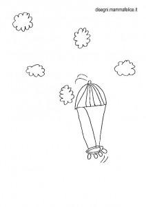 disegni-da-colorare-bambini-mongolfiera-cielo