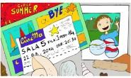 Disegno da colorare: Scatola dei ricordi estivi