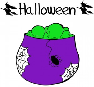 disegni-da-colorare-halloween-pentolone-stregato
