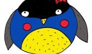 Disegni da colorare: gli uccellini invernali