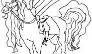 Disegno da colorare: il cavallo