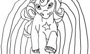 Disegno da colorare: Unicorno