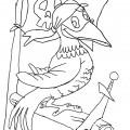 disegni-da-colorare-animali-pappagallo-pirata