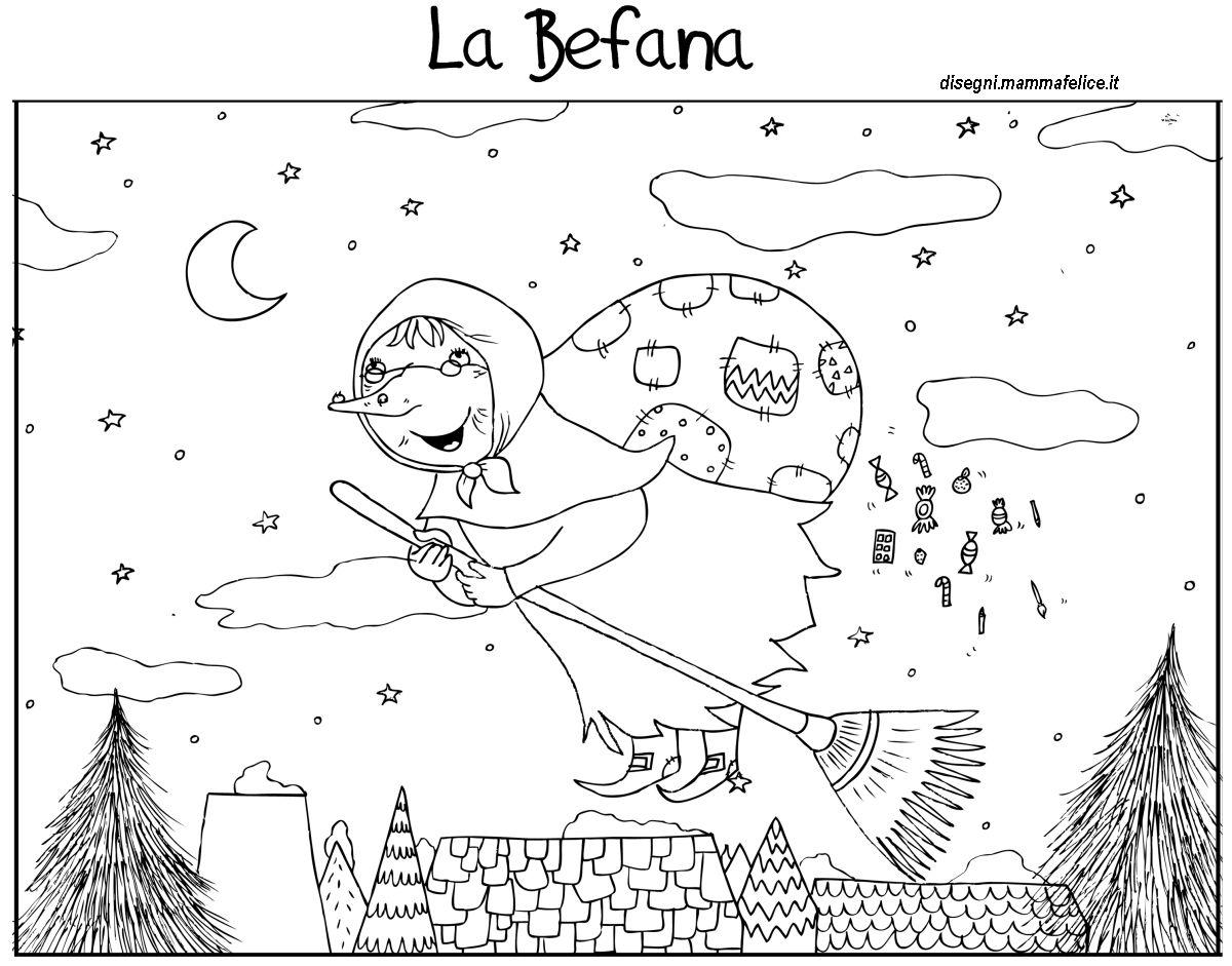 disegni-da-colorare-bambini-befana-epifania