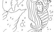 Disegno da colorare: La Sirena