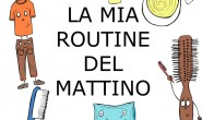 Sequenza da colorare: routine del mattino