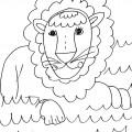 disegni-da-colorare-animali-leone