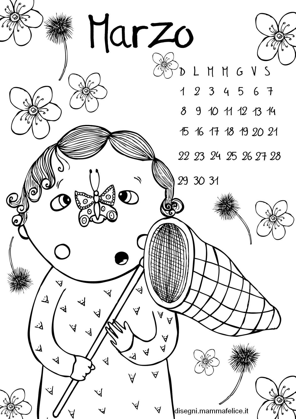 pagine da colorare per bambini