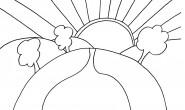 disegno-da-colorare-bambini-estate-sole-cielo