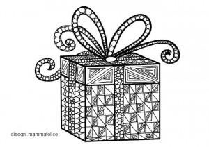 disegni-da-colorare-per-il-natale-pacco-regalo