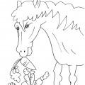 disegno-da-colorare-bambini-cavallo