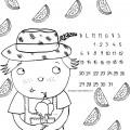 disegno-da-colorare-bambini-il-mese-di-luglio