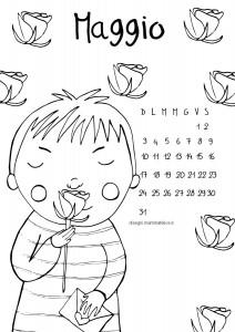 disegno-da-colorare-bambini-mese-di-maggio