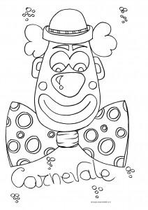 disegni-da-colorare-carnevale-faccia-da-pagliaccio