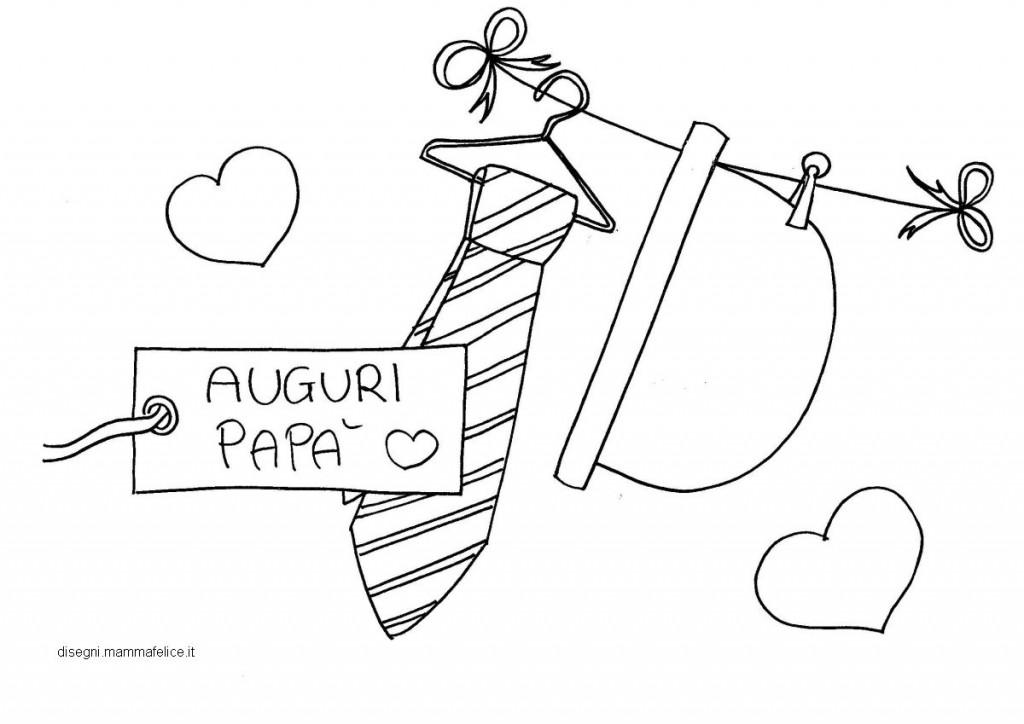 Disegni per bambini da colorare festa del pap disegni for Immagini festa del papa da colorare